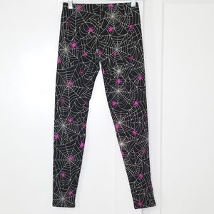 Halloween Spiders & Web Comfy Leggings